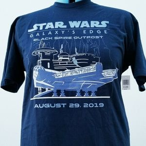 Disney Star Wars Galaxy's Edge Opening Day Adult T